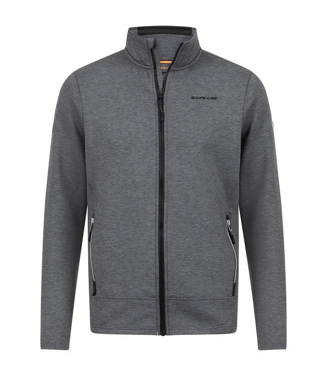 Life-Line Dex Men's Fleece Vest - Dark Gray