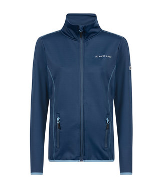 Life-Line Denise Dames Fleece Vest - Blauw