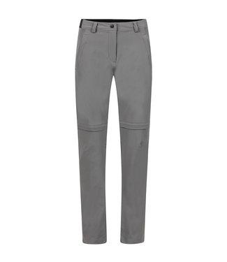 Life-Line Louise Ladies Zip-Off Pants - Dark gray