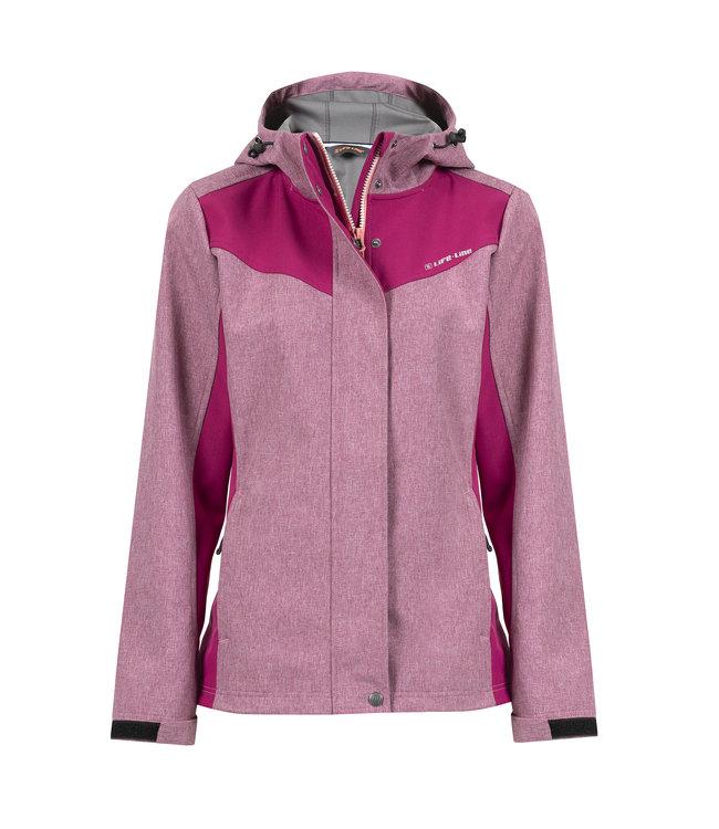 Life-Line Carmen Ladies Softshell Jacket - Pink