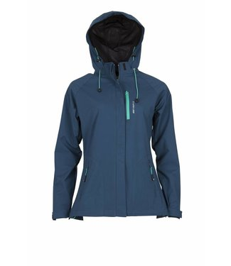 Life-Line Servina Softshell Jas Ladies Petrol
