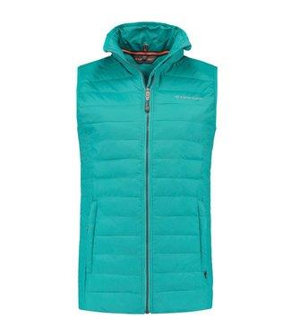 Life-Line Alke - Dons-look Bodywarmer Women Turquoise