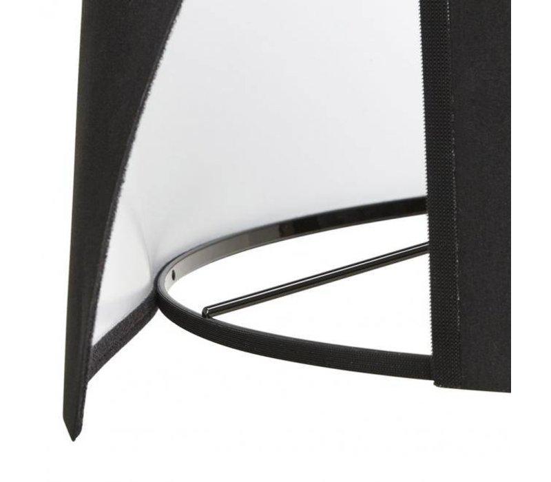 Vloerlamp Trivet Natuur / Zwart