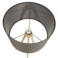 Vloerlamp Trivet Natuur / Grijs