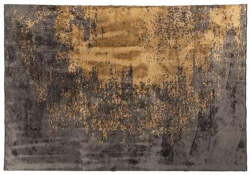 Russel Vloerkleed  Russel, kleur 62  grijs/goud