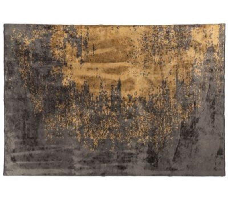 Vloerkleed Russel, kleur  62, grijs-goud