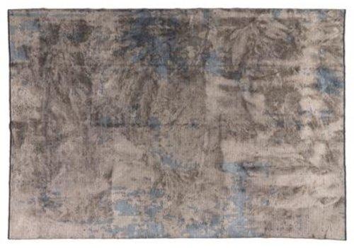 Rousseau Vloerkleed  Rousseau, kleur 36 blauw-grijs