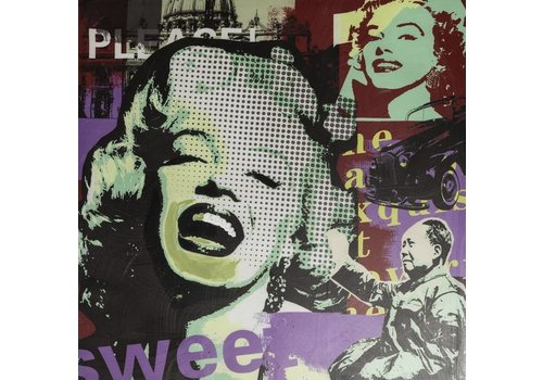 Schilderij Marilyn Monroe Modern