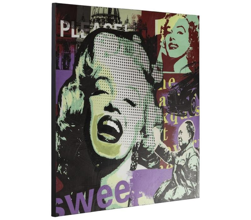 Modern canvas schilderij Marilyn Monroe