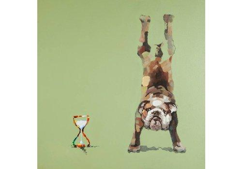 Schilderij hond