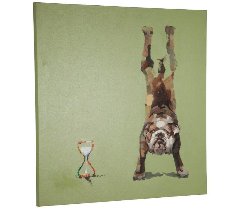 Canvas schilderij Hond