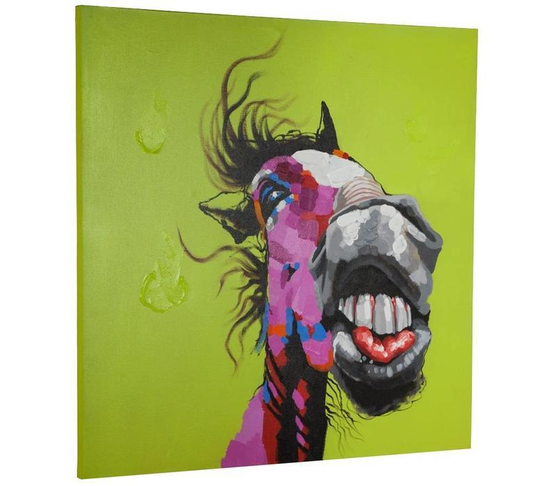 Canvas schilderij Paard