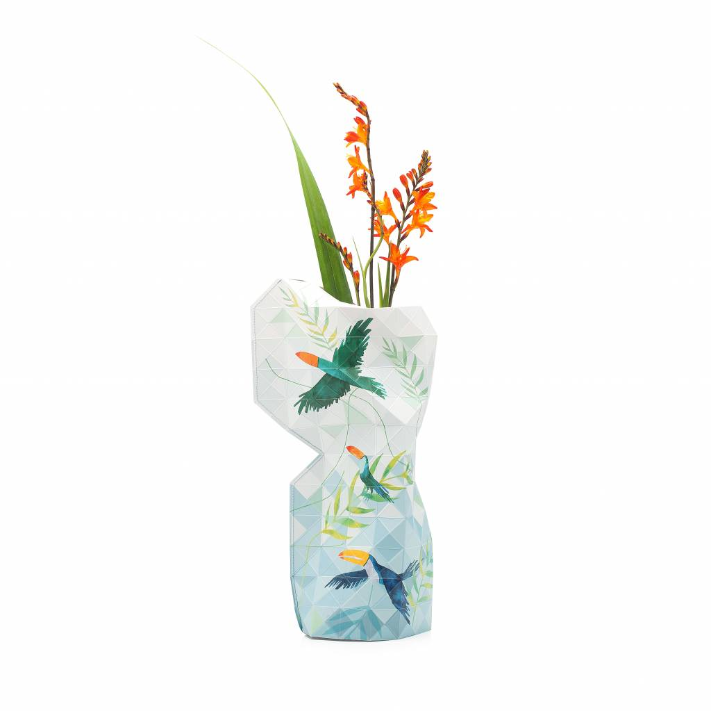 Paper Vase Cover Toucan-1