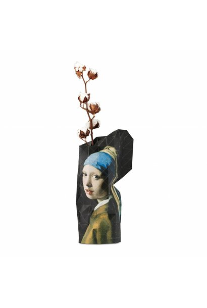 Papieren vaas Girl with a Pearl Earring
