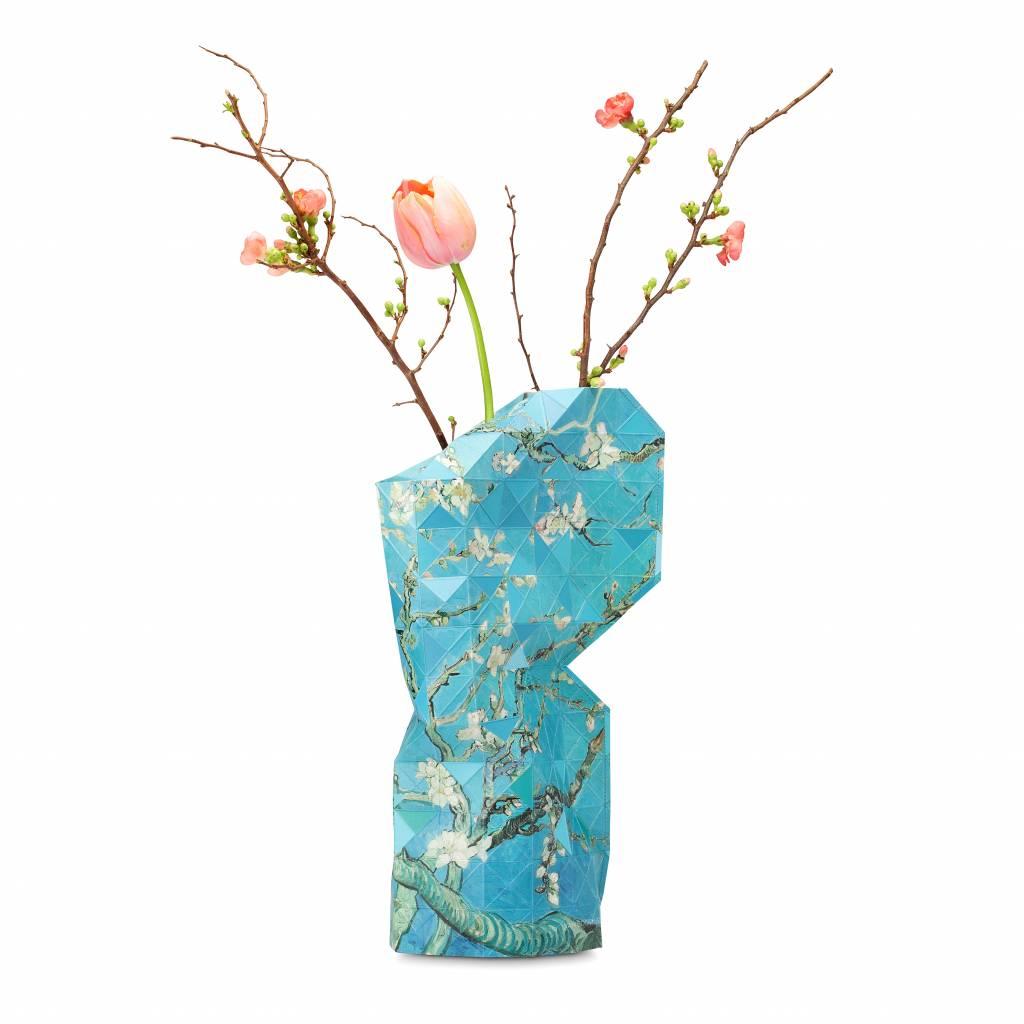 Paper Vase Cover Almond Blossom-1