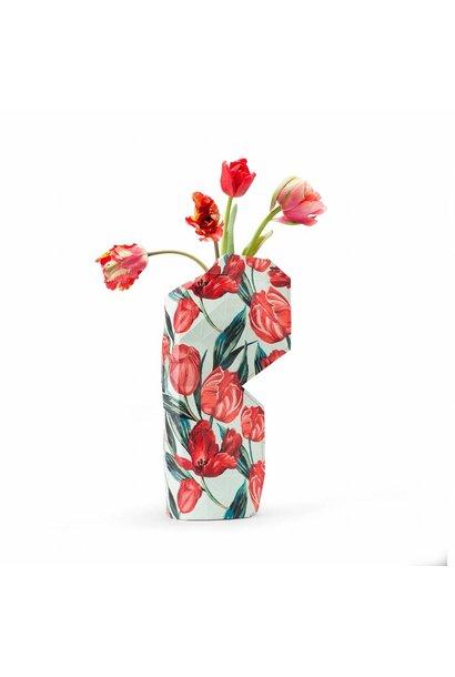 Papieren vaas Tulpen