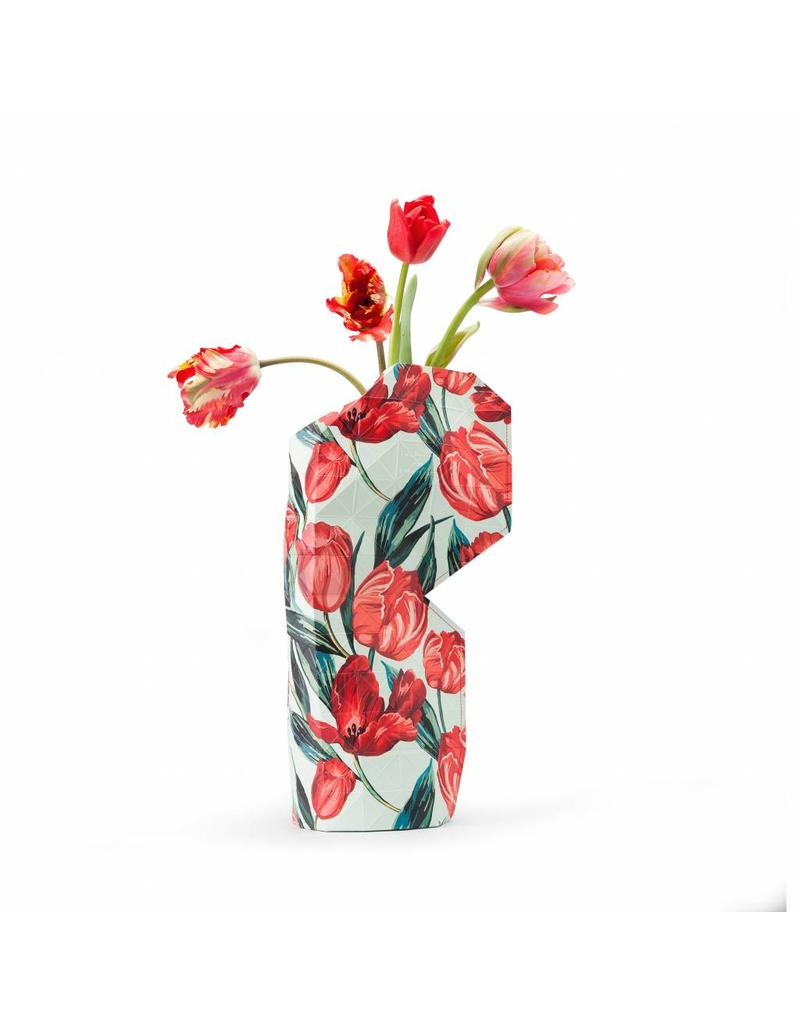 Paper Vase Cover Tulips