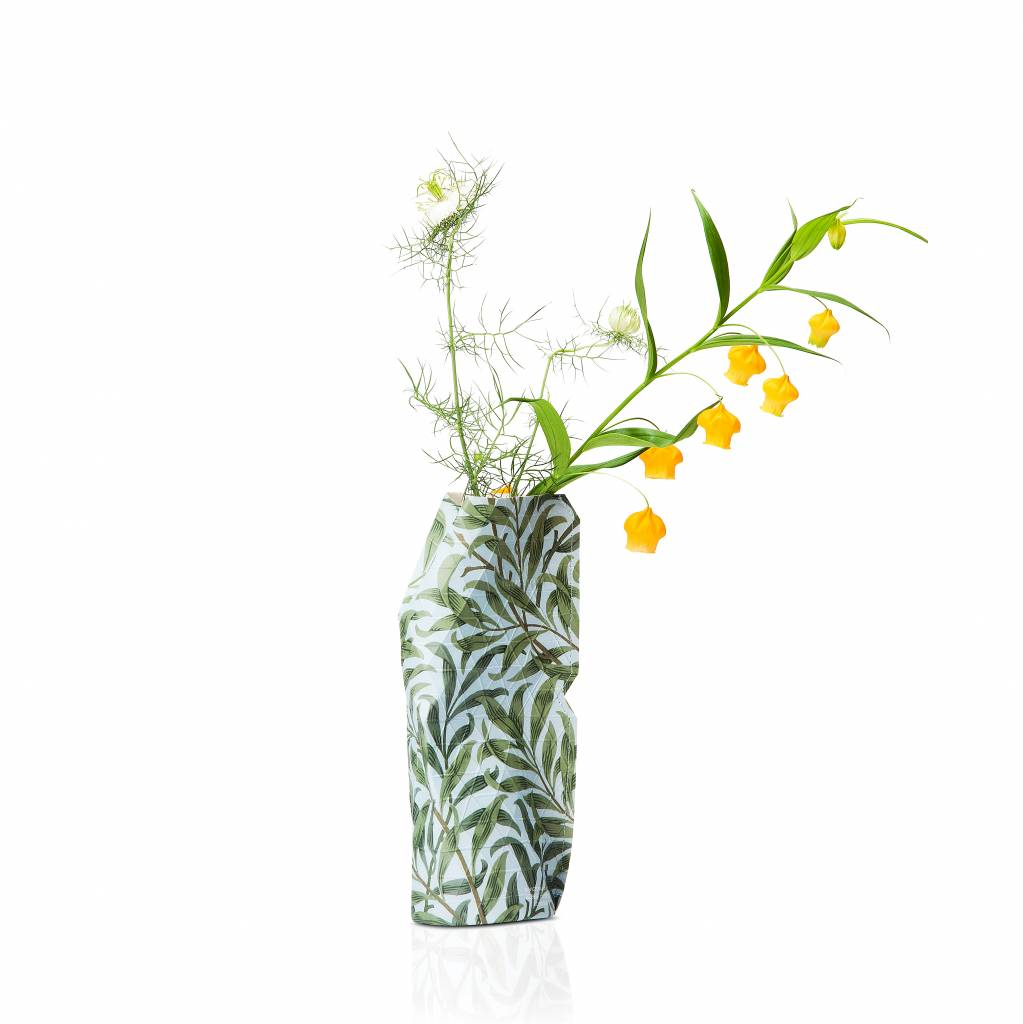 Paper Vase Cover Willow Bough (small)-1