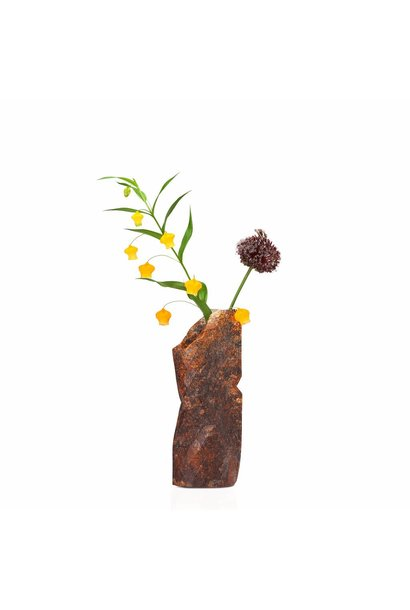 Paper Vase Cover Natural Stone (small)
