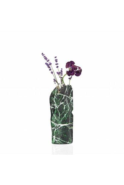 Papieren vaas Marble Green (small)