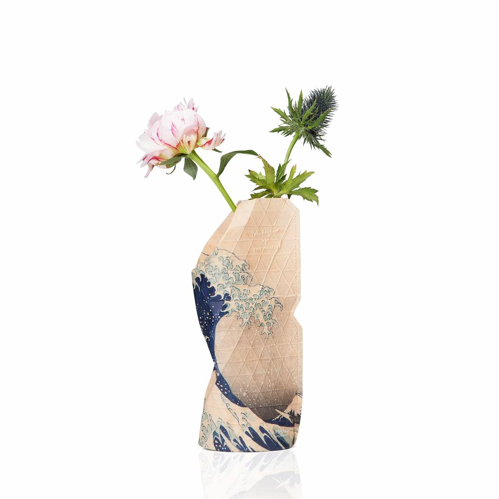Paper Vase Cover The Wave (small)-1