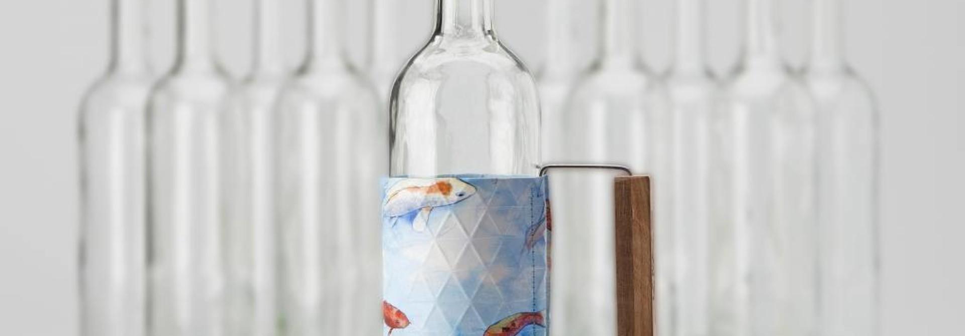 Bottle Grip Blue Fish