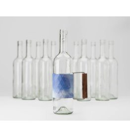 Bottle Grip Watercolour Blue