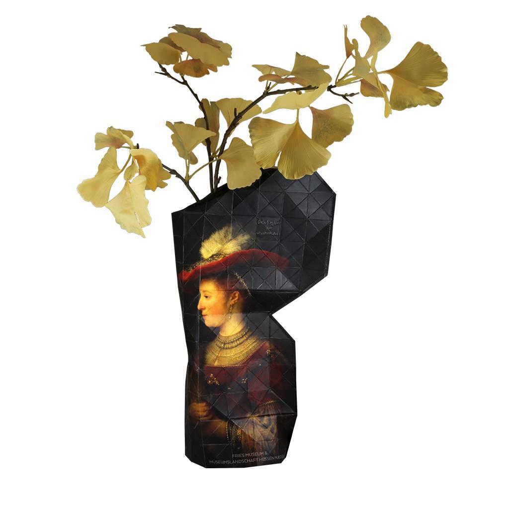 Paper Vase Cover Saskia van Uylenburgh - Rembrandt-1