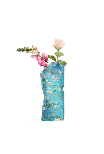 Paper Vase Cover Almond Blossom (small)