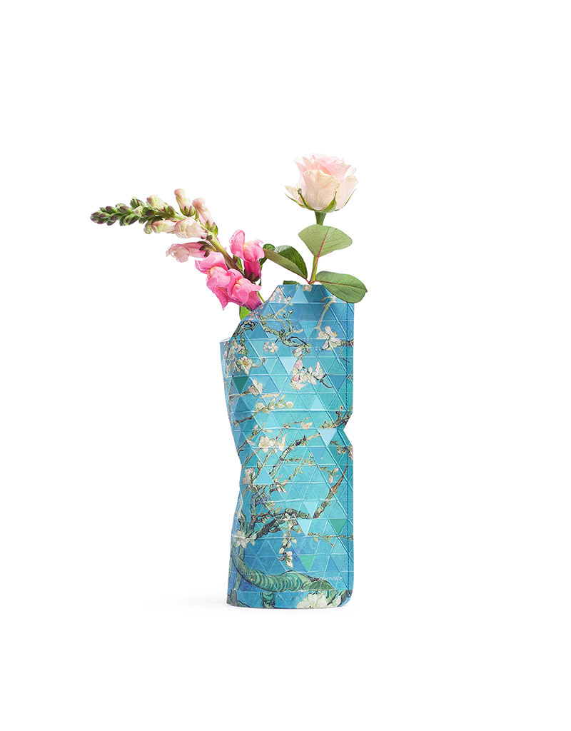 Paper Vase Cover Almond Blossom (small)-1