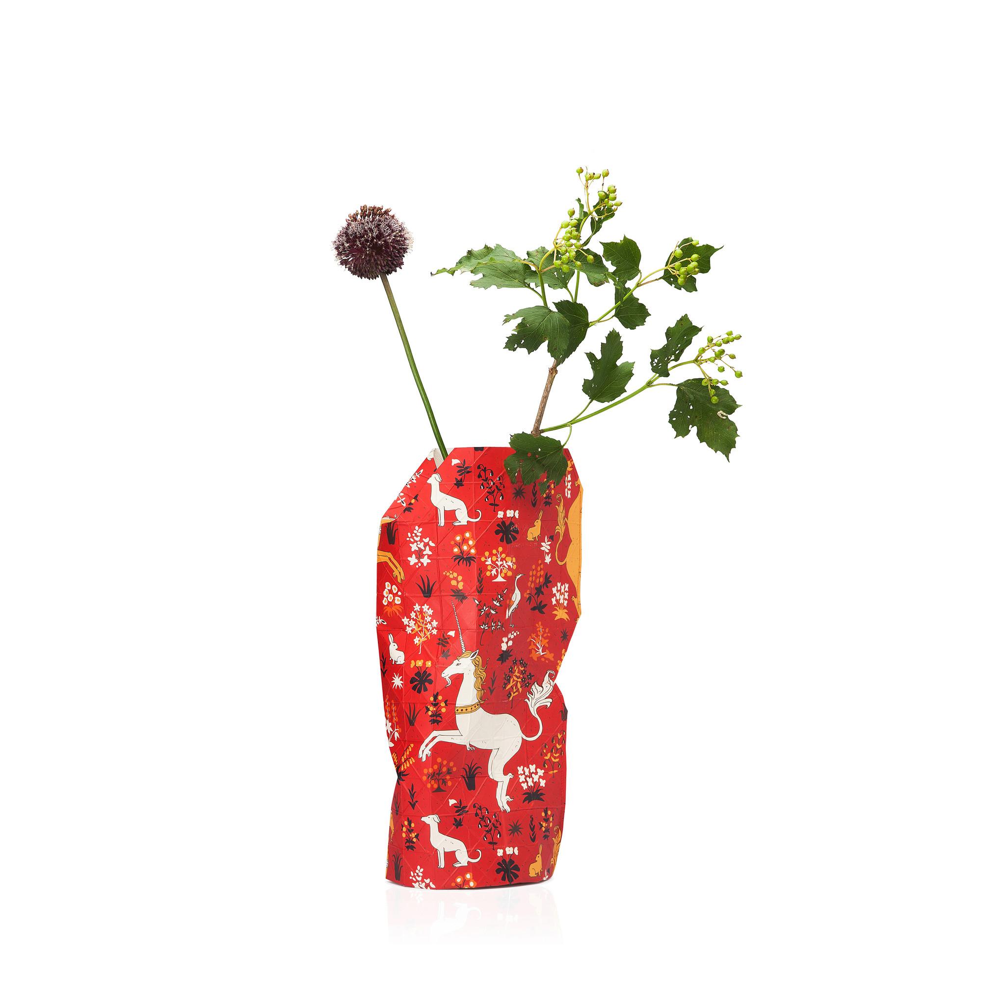 Paper Vase Cover Unicorn (small)-1