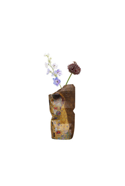 Paperieren vaas The Kiss - Klimt (small)