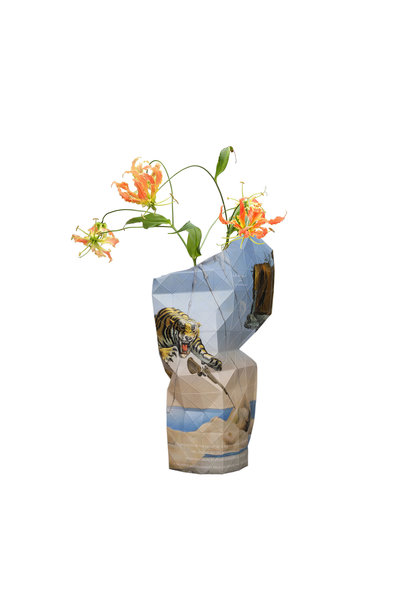 Paper Vase Cover The Dream - Dali