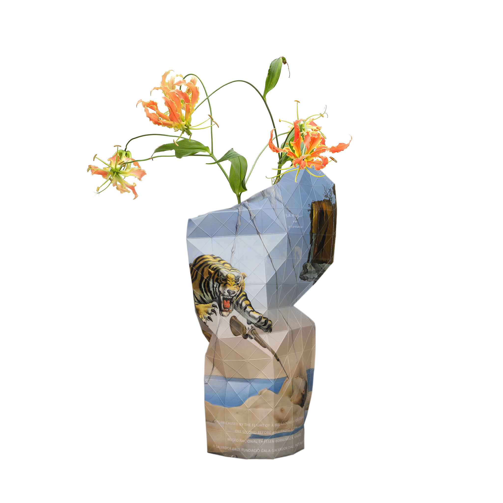Paper Vase Cover The Dream - Dali-1