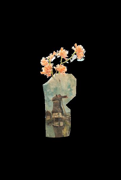 NEW: Paper Vase Cover Windmill - Gabriël