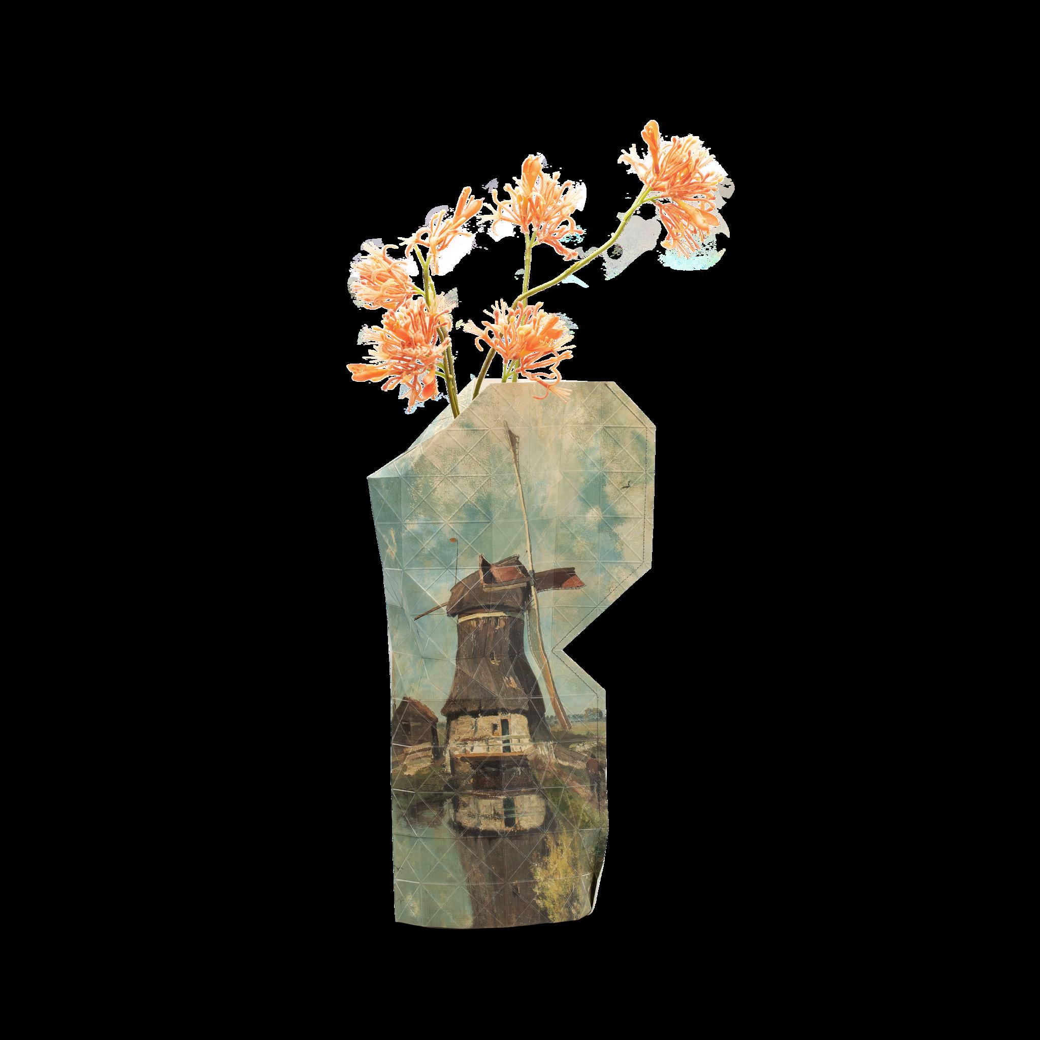 NEW: Paper Vase Cover Windmill - Gabriël-1