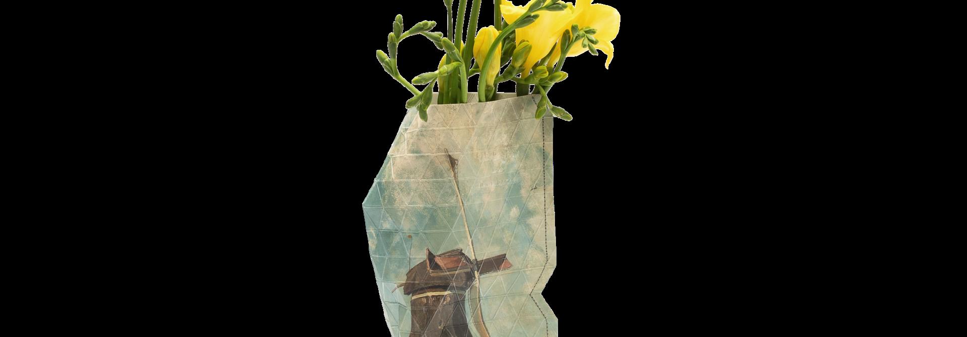 NEW: Paper Vase Cover Windmill - Gabriël small