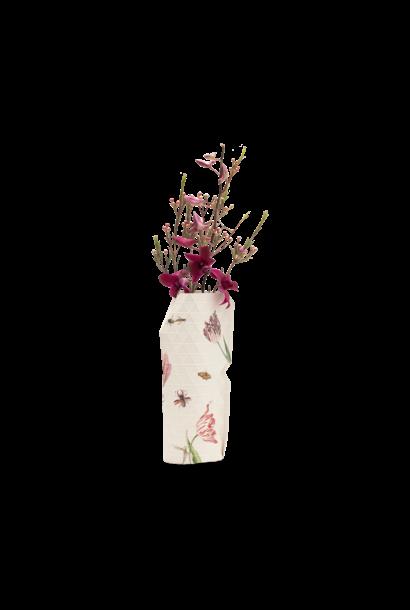 NIEUW: Papieren Vaas Vintage Tulips - Marrel