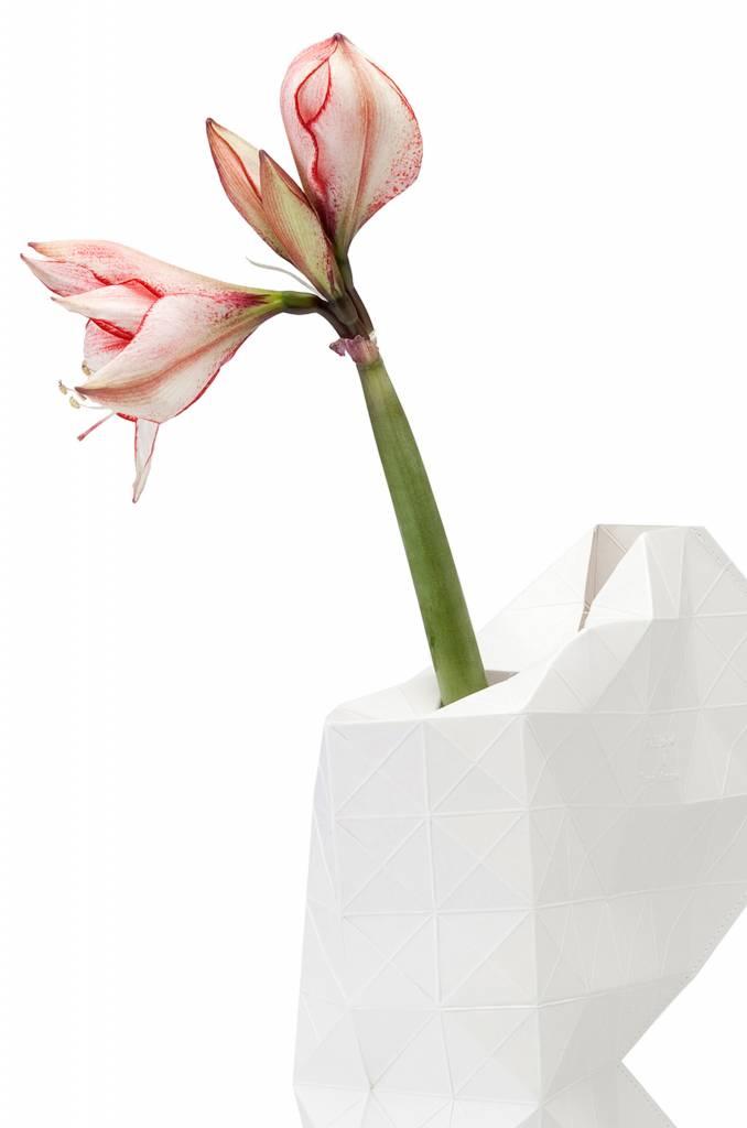 Paper Vase Cover White-3