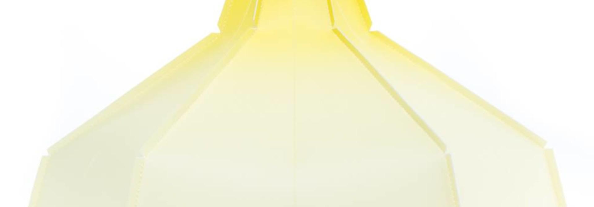 Lampenkap Geel