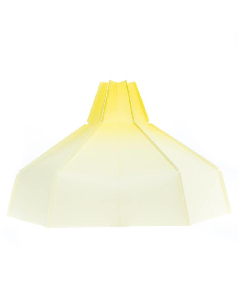 Folded Lampshade Yellow Gradient
