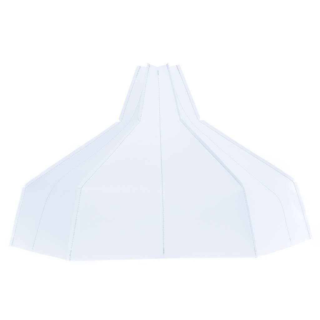 Folded Lampshade White-1