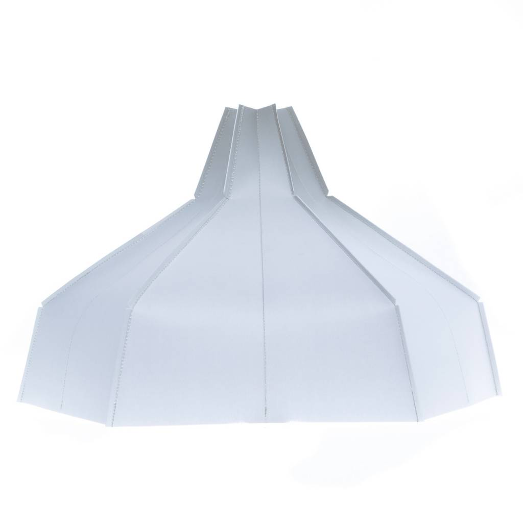 Folded Lampshade Grey Gradient-1