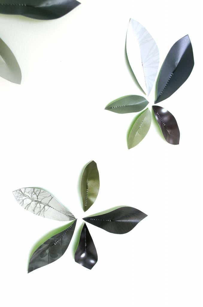 Wallpaper Leaves Green-5