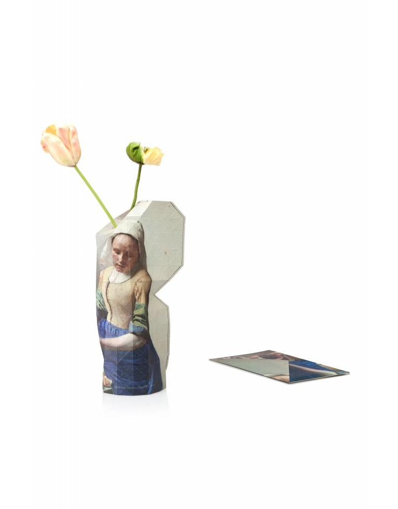 Paper Vase Cover 'Milkmaid' ...