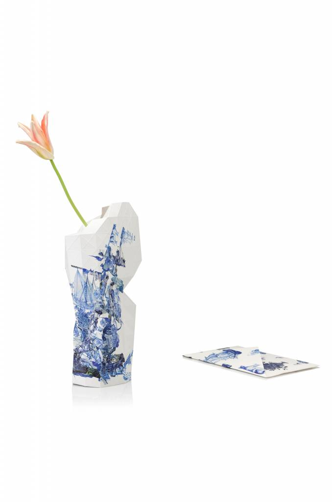 Paper Vase Cover Delft Blue Icons-2
