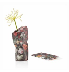 Paper Vase Cover Still Life with Flowers (small)