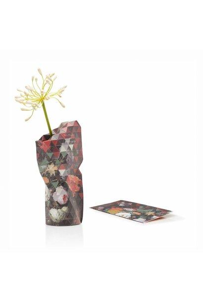 Papieren vaas Still Life with Flowers (klein)