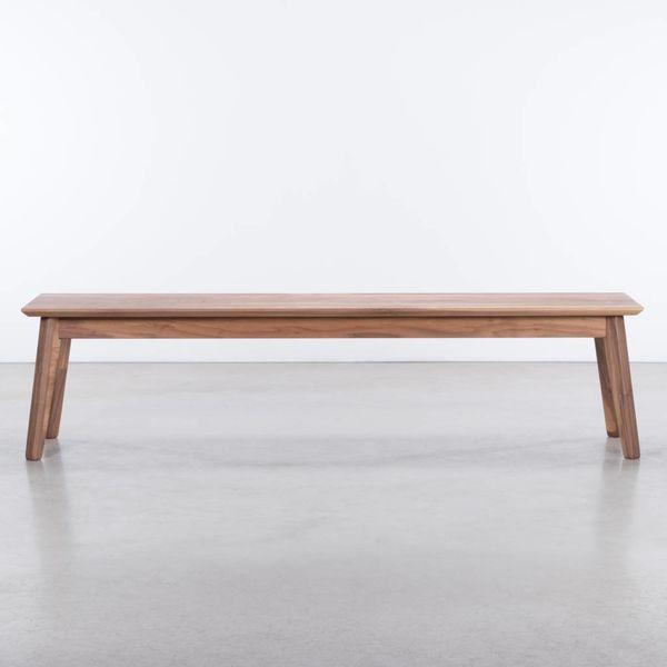 bSav & Økse Gunni Dining Table Bench Walnut