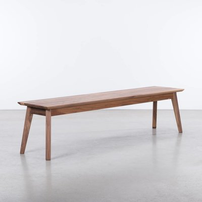 Sav & Økse Gunni Dining Table Bench Walnut
